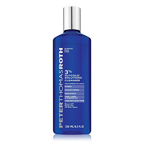 Peter Thomas Roth  Roth 3% Glycolic Solutions Cleanser Fluid Ounce Ohrstöpsel, 4 cm, Schwarz (Black) von Peter Thomas Roth