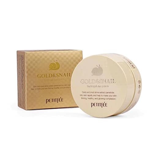 PETITFEE Gold and Snail Hydrogel Eye Patch von Petitfee