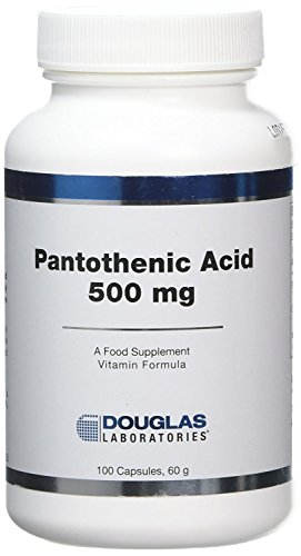 Pantothensäure 500 mg (100 Kapseln) - Douglas Laboratories von Douglas Laboratories Europe