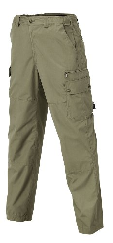 Pinewood Herren Outdoorhose Wildmark Hose, Lightkhaki, 48, 9085-224 von Pinewood