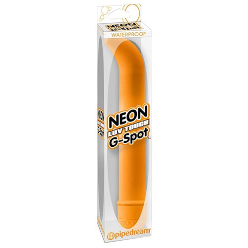 Pipedream - Neon - Luv Touch G-Spot Orange, 1er Pack von Pipedreams