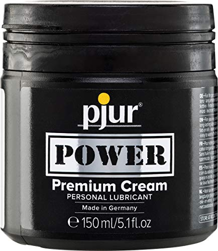 Pjur Power Premium Cream Lubricant Tiegel, Gleitmittel, 1 x 150 ml von Pjur