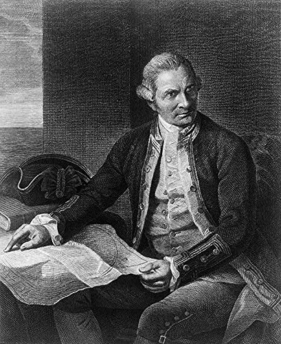 Science Source Poster Captain James Cook English Explorer, 61 x 91 cm von Posterazzi