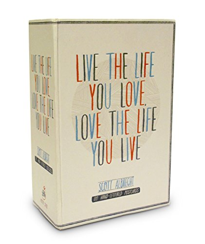 Live the Life You Love Postcard Box: 100 HAND-LETTERED POSTCARDS von Random House LCC US