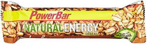 PowerBar Natural Energy Cereal Cacao Crunch 24 Stck, 1er Pack (1 x 960 g) von Powerbar