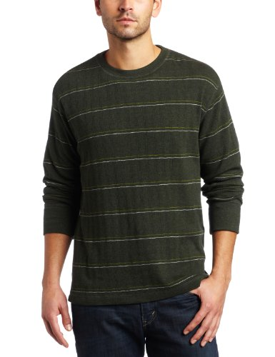 Prana – Herren ninebark Wende Long Sleeve Top XXL Olive Heather von Prana