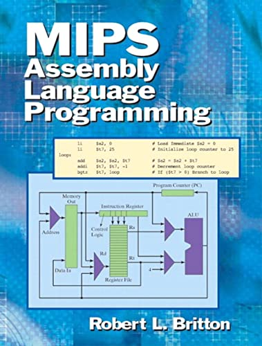 MIPS Assembly Language Programming von Prentice Hall
