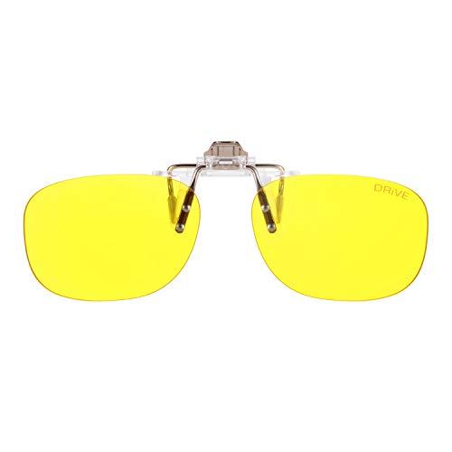 9b29848789 PRiSMA CLiP-ON DRiVE Day Night - Blueblocker Autofahrer Brillenaufstecker -  Brillen-Clip - Brillenaufsatz - CP923D