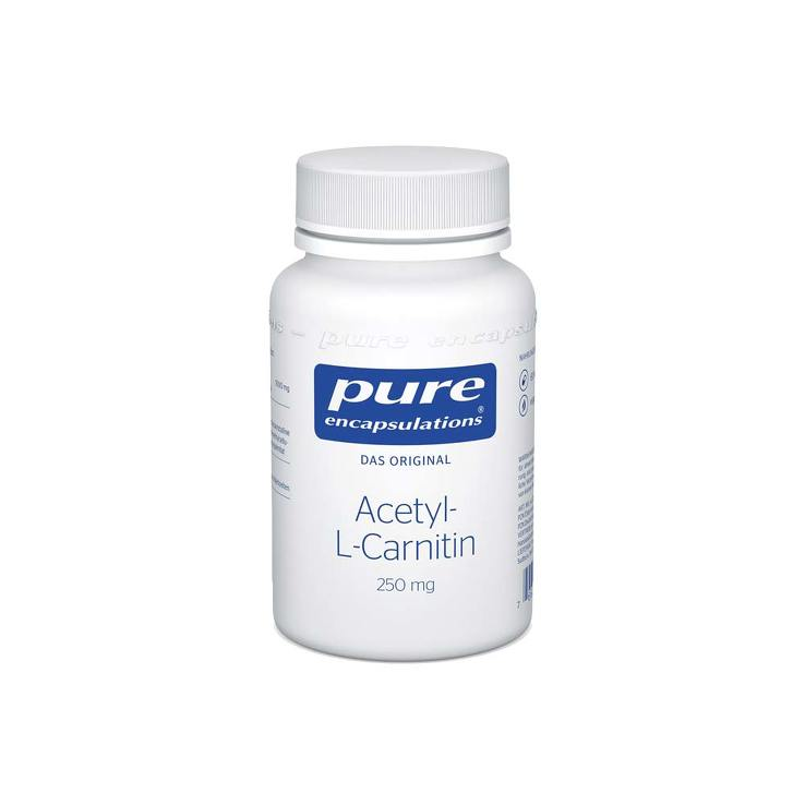Pure Encapsulations Acetyl-L-Carnitin 250 mg Kapseln von Pure Encapsulations