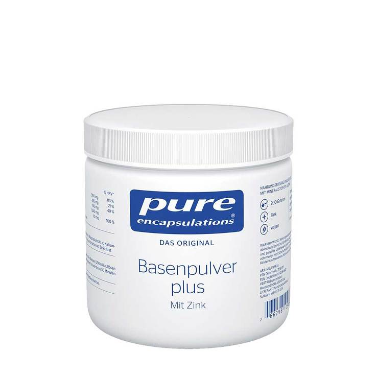 Pure Encapsulations Basenpulver plus von Pure Encapsulations