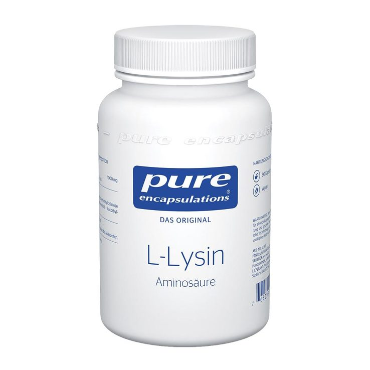 Pure Encapsulations L-Lysin Kapseln von Pure Encapsulations
