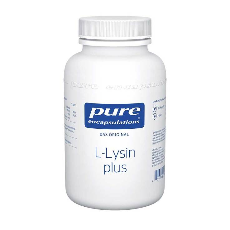 Pure Encapsulations L-Lysin plus Kapseln von Pure Encapsulations