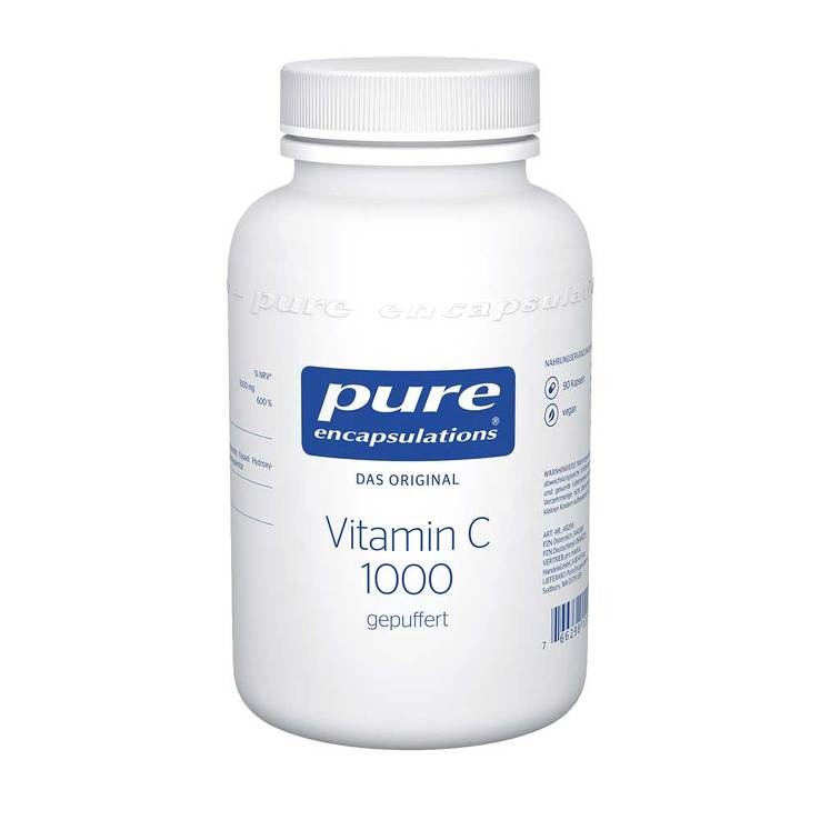 Pure Encapsulations Vitamin C 1000 gepuffert Kapseln von Pure Encapsulations