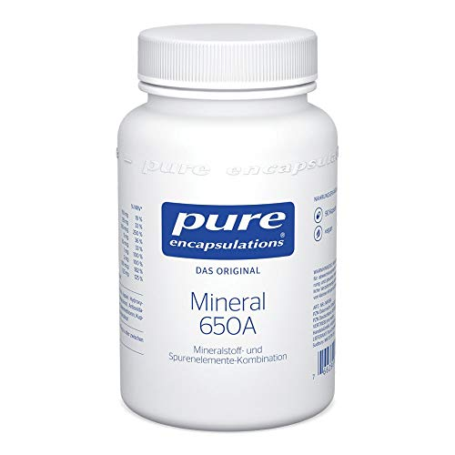 PURE ENCAPSULATIONS Mineral 650A Kapseln 90 St von pro medico GmbH