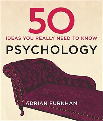 50 Psychology Ideas You Really Need to Know (50 Ideas You Really Need to Know series) von Quercus