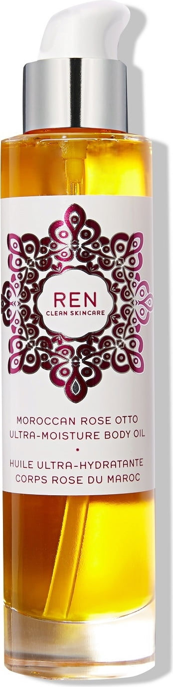 REN Clean Skincare Moroccan Rose Otto Ultra-Moisture Body Oil - 100 ml von REN Clean Skincare