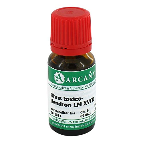 RHUS TOXICODENDRON LM 18, 10 ml von ARCANA Dr. Sewerin GmbH & Co.KG