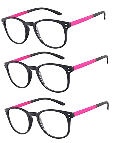 Rainbow safety Herren Damen Vollformat Lesebrille Miami Lesehilfe RRC +1.00D Rosa von rainbow safety