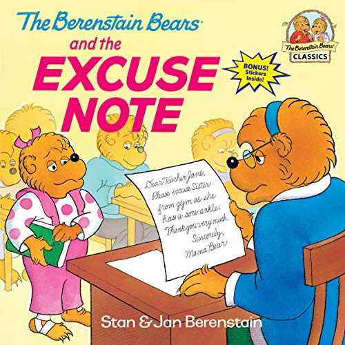 The Berenstain Bears and the Excuse Note (First Time Books(R)) von Random House Books for Young Readers
