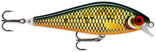 Rapala Unisex-Adult Super Shadow Rap Locken, Skalierte Plötze, 16cm von Rapala
