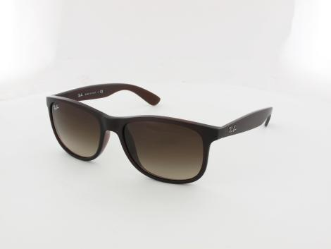 Ray Ban Andy RB4202 607313 55 matte brown / brown gradient von Ray Ban