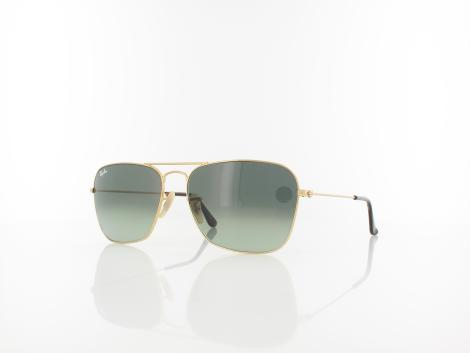 Ray Ban Caravan RB3136 181/71 58 gold / light grey gradient dark grey von Ray Ban