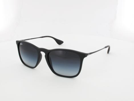 Ray Ban Chris RB4187 622/8G 54 rubber black / grey gradient von Ray Ban