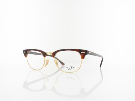 Ray Ban Clubmaster RX5154 2372 49 red havana von Ray Ban