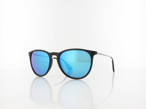 Ray Ban ERIKA RB4171 601/55 54 black / light green mirror blue von Ray Ban