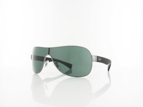 Ray Ban Emma RB3471 004/71 32 gunmetal black rubber / green von Ray Ban