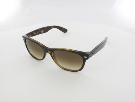 Ray Ban New Wayfarer RB2132 710/51 55 light havana / brown gradient von Ray Ban