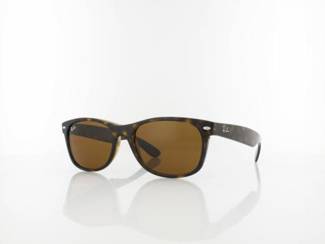 Ray Ban New Wayfarer RB2132 710 55 light havana / crystal brown von Ray Ban
