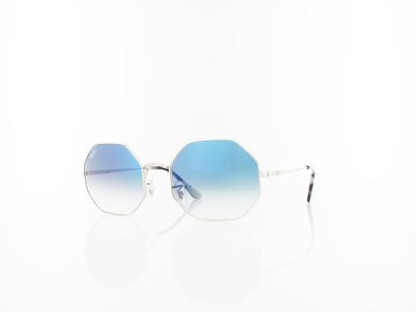 Ray Ban RB1972 91493F 54 silver / clear gradient blue von Ray Ban