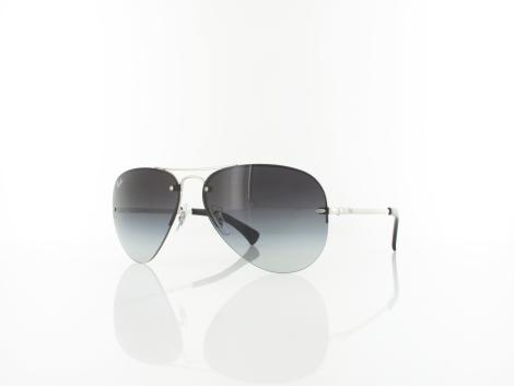 Ray Ban RB3449 003/8G 59 shiny silver / grey gradient von Ray Ban