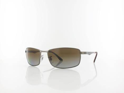 Ray Ban RB3498 029/T5 61 matte gunmetal / grey gradient brown polar von Ray Ban