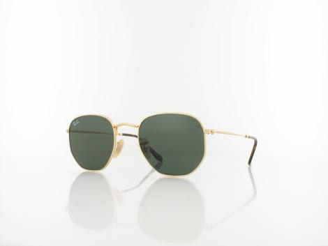 Ray Ban RB3548N 001 51 gold / crystal green von Ray Ban