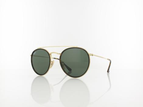 Ray Ban RB3647N 001 51 gold / green von Ray Ban