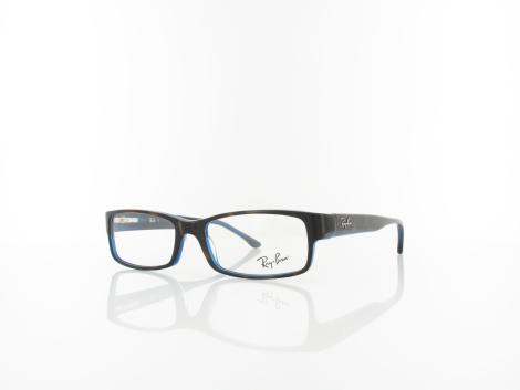 Ray Ban RX5114 5064 52 top havana on blue von Ray Ban