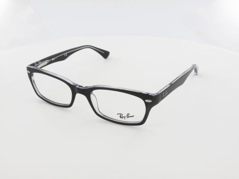 Ray Ban RX5150 2034 52 top black on transparent von Ray Ban