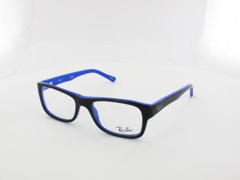 Ray Ban RX5268 5179 50 top black on blue von Ray Ban