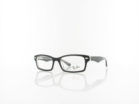 Ray Ban RY1530 small 3529 48 top black on transparent von Ray Ban