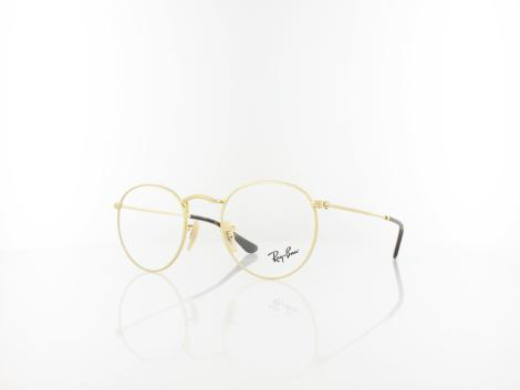 Ray Ban Round Metal RX3447V 2500 47 gold von Ray Ban