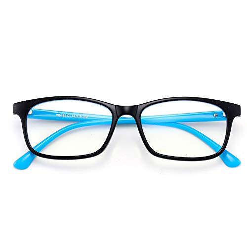 HUILIZ Blue Light Blocking Brille, Anti Eyestrain, Computer Reading/Gaming/TV Brille, Flexible Lightweight Reader Für Frauen Männer 2.0 von Reading glasses