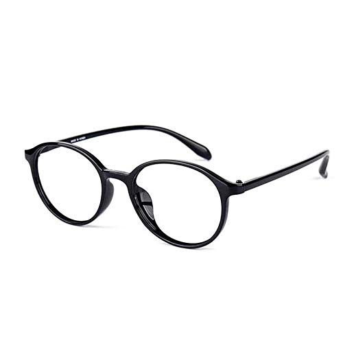 HUILIZ Lesebrille, Männer Und Frauen Blue Light Blocking Brille, Qualität Federscharnier,Stilvolle Leser, Runde Brillengestell Anti Blue Ray Computerspielbrille von Reading glasses