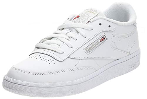 Reebok Club C 85, Deman Niedrig, Elfenbein (White/light Grey), 36 EU von Reebok