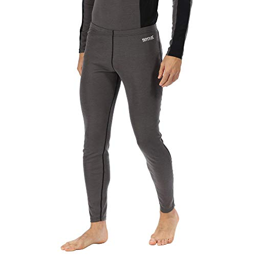 Regatta Herren Zimba Merino Wool Super Soft Odour Controlling Wicking Base Layer Pant Funktionsunterwäsche, Magnet, XXL von Regatta