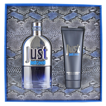 Roberto Cavalli Just Cavalli for Him Men - Geschenksets Eau de Toilette Spray 90 ml + Duschgel 75 ml von Roberto Cavalli