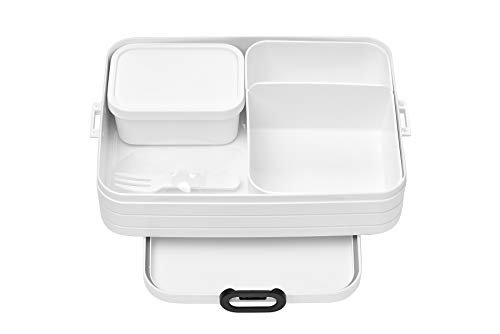 Mepal bento-Lunchbox-take-a-Break-Large-weiay, TPE/pp/abs, Weiss, 0 mm von Mepal