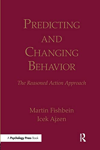 Predicting and Changing Behavior von Routledge