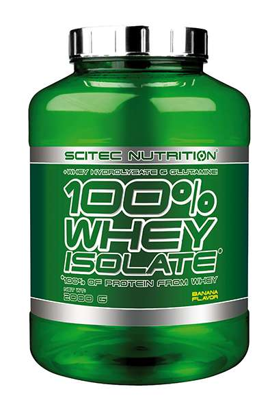 Scitec Nutrition 100% Whey Isolate, 2000g von SCITEC